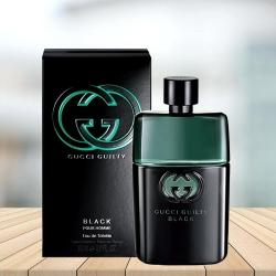 Exciting Gift of GUCCI Guilty Black Eau De Toilette for Him to Adilabad