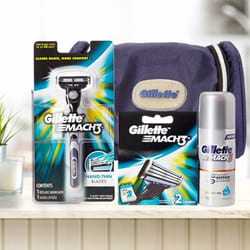 Remarkable Gillette Mach3 Travel Pack for Men to Adoor
