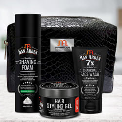 Charming Mens Grooming Kit from Man Arden to Adoor