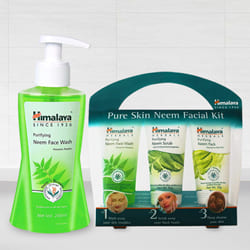 Appealing Himalaya Pure Skin Neem Facial Kit to Adoor