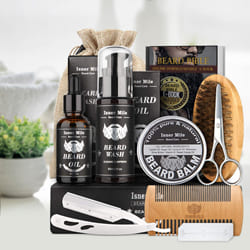 Handsome Look Beard Trimming Kit for Men to Adugodi