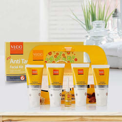 Wonderful Pedicure and Manicure Kit with Anti Tan Facial Kit from VLCC to Adoor