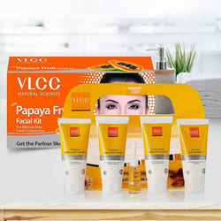 Attractive Pedicure and Manicure Kit with Papaya Fruit Facial Kit from VLCC to Akola