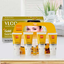 Beauty Special Pedicure and Manicure Kit with Gold Facial Kit from VLCC to Adoor