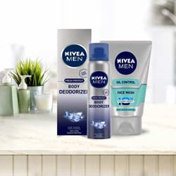 Fragrant NIVEA Mens Deodorant and Face Wash to Adilabad