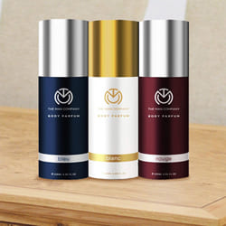 Delightful The Man Company Body Perfume Trio Deodorant Set for Men to Ahmedgarh