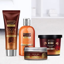 Exquisite Bryan N Candy New York Cocoa Shea Bath Tub Kit to Adoor