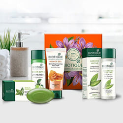 Beautifying Biotique Bio Daily Care Regime Kit to Ahmedabad