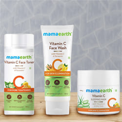 Beautifying Mama Earth Overnight Skin Glow Combo to Aluva