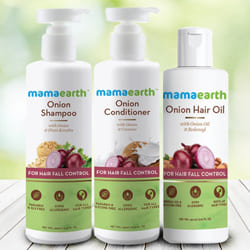 Shining Look Mamaearth Anti Hair Fall Gift Kit to Adilabad