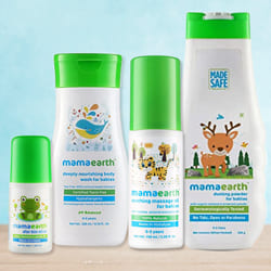 Supple Mamaearth Baby Care Hamper to Ahmedabad