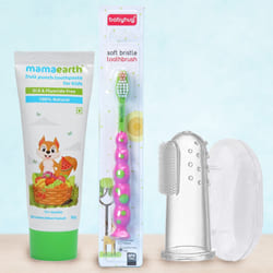 Tender Babies Tooth Care Combo from Mamaearth to Adoni
