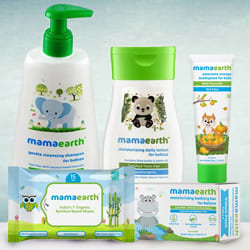Tender Touch Baby Care Hamper from Mamaearth to Agartala