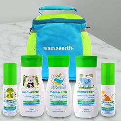 Essential Mamaearth Complete Baby Care Kit to Ahmedabad