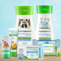 Gentle Touch Mamaearth Baby Skin Care Hamper to Adilabad