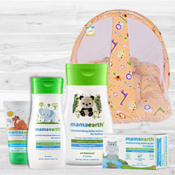Soft N Smooth New Born Baby Care Gift Hamper to Ahmedabad