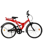 Eye-Catching Black and Red BSA Rocky EX Hercules Ranger Bicycle to Nadiad