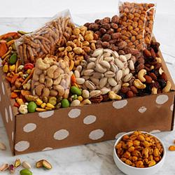 Special Gift Box of Dried Fruits n Gourmet to Adra