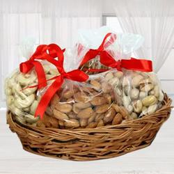 Special Basket of Premium Dry Fruits to Adugodi