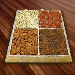 Mouth-Watering Dry Fruits Assemblage to Asansol