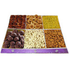 Mouthful Gusto Dry Fruit and Chocolate Pack to Belapur Road