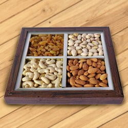 Freshening Animations Dry Fruit Platter to Surat