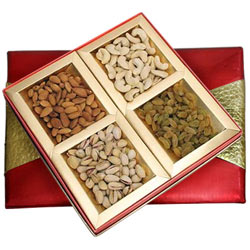 Healthy Treat of Mixed Dry Fruits Gift Pack to Bhadrawati