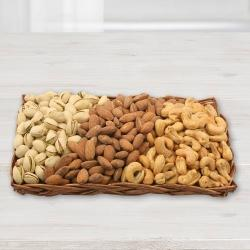 Premium Dried Nut Gift Basket to Aizwal