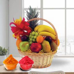 Fresh Fruits Basket 2 Kg to Ariyalur