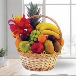 Fresh Fruits Basket 2 Kg to India