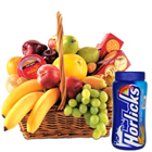 Mouth watering fresh Fruit basket combined with Horlicks and crunchy Biscuits  to Nagpur