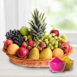 Mouth-watering fresh and healthy Seasonal Fruit basket to Gurgaon