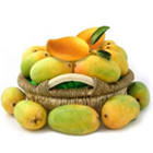 Mangoes decorated in Basket 2 Kg to Bhadrawati