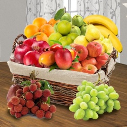 Exotic Fresh Fruits Basket for Mothers in India to Chennai