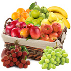 Toothsome Tempting Excellence Basket of 10 kg Fresh Fruits to Agra
