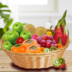 Exotic Fruits Basket to Bangalore