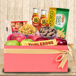Tasty Fresh Fruits N Assortments Gift Box to Ajmer