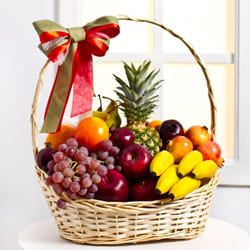 Garden-Fresh Fruits Gift Basket to Ahmadnagar