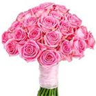 Arrangement of 30 lovely Pink Roses to Barauipur