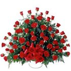 Classy arrangement of  100 Dutch Roses  to Akola
