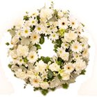Fascinating mixed Flower wreath to Bangalore