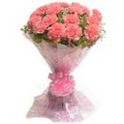 Gorgeous Composition of Pink Carnations to Thane