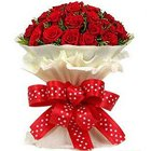 Tranquility Premium Bouquet of Roses to Ahmedabad