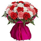 Sweet Mixed Carnation Treasures to India