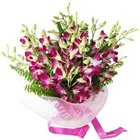 Sunset Garden Orchid Stems Bouquet to Gurgaon