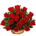 Sweet Medley Arrangement of Red Roses to India