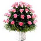 Premium Selection of Pink Coloured Roses to Thane