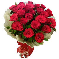 Red Rose Bouquet to Akola