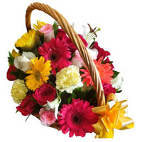 Basket of Florals to Bangalore