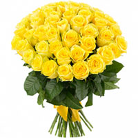 Fabulous Yellow Roses Bouquet